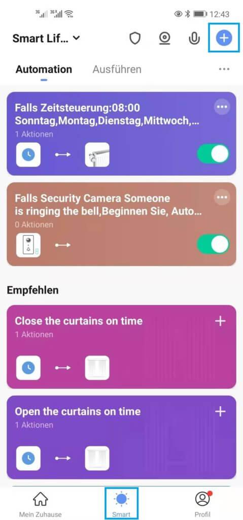 smart life app automation 1