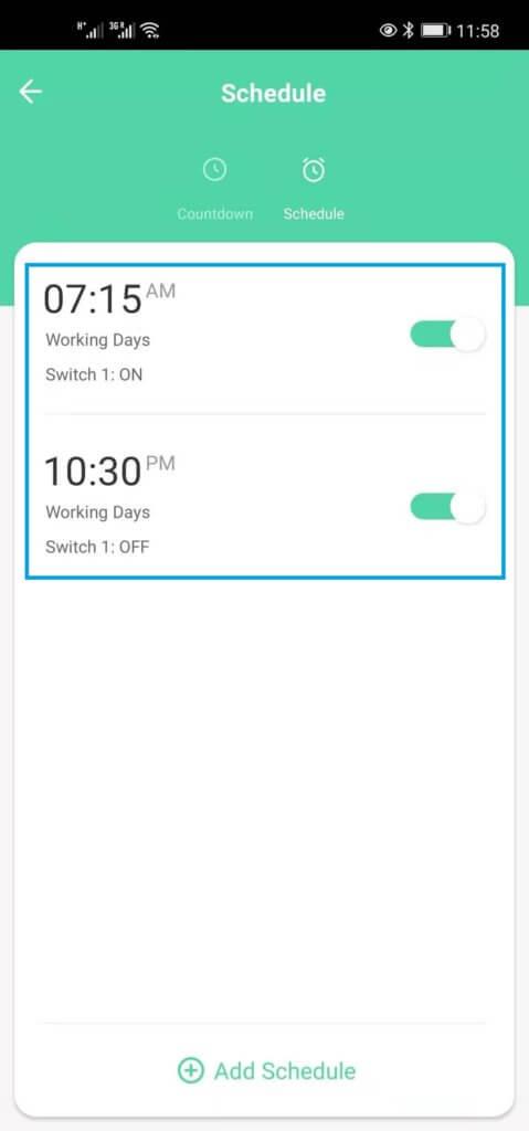 smart life app zeiteinstellung 4